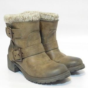 "NEW ROXY Womens Taupe ""Scout"" Boots Size 6.5"